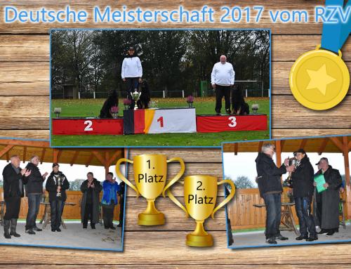 1. & 2. Platz bei der Deutschen Meisterschaft!